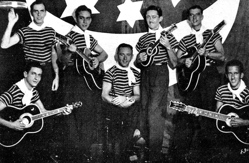 O Bando da Lua em 1934.