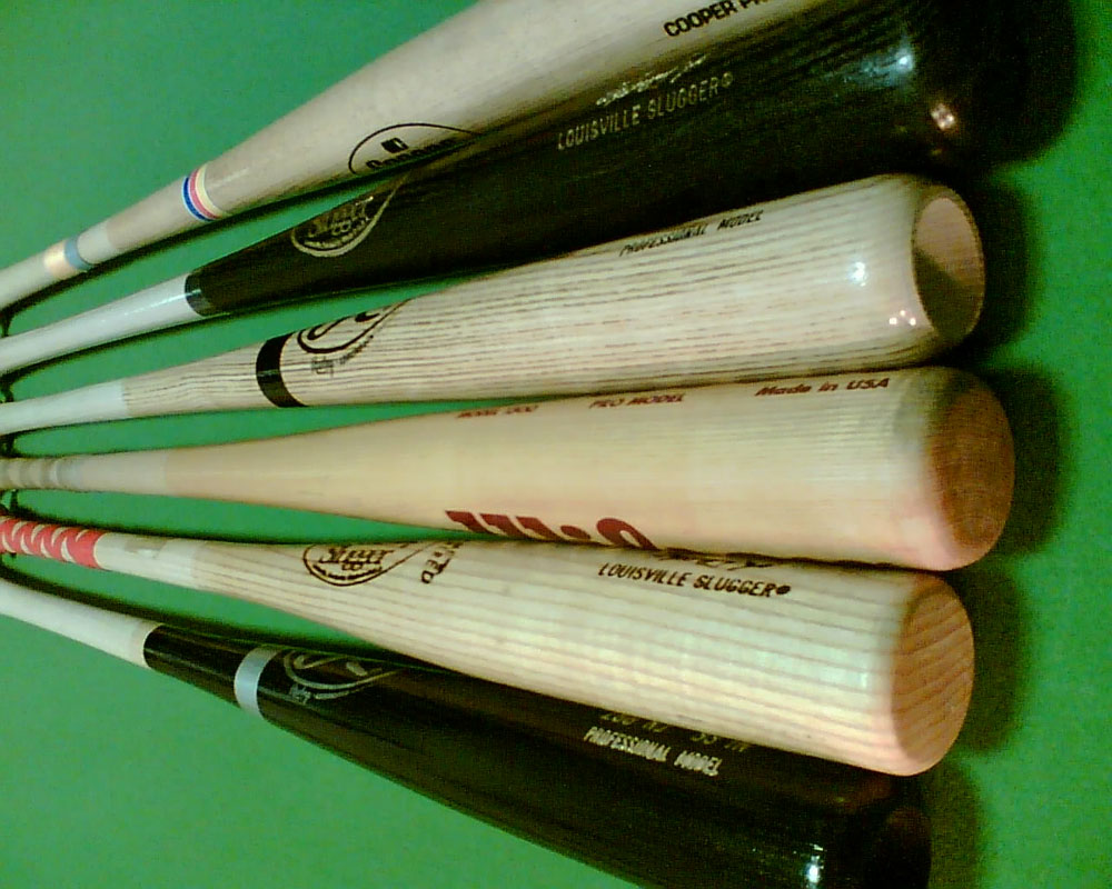 the history of the baseball bat Baseball was a very young sport in the mid-eighteen hundreds, so batters usually made their own bats this led to a lot of experimentation with the shape and size of the baseball bat.