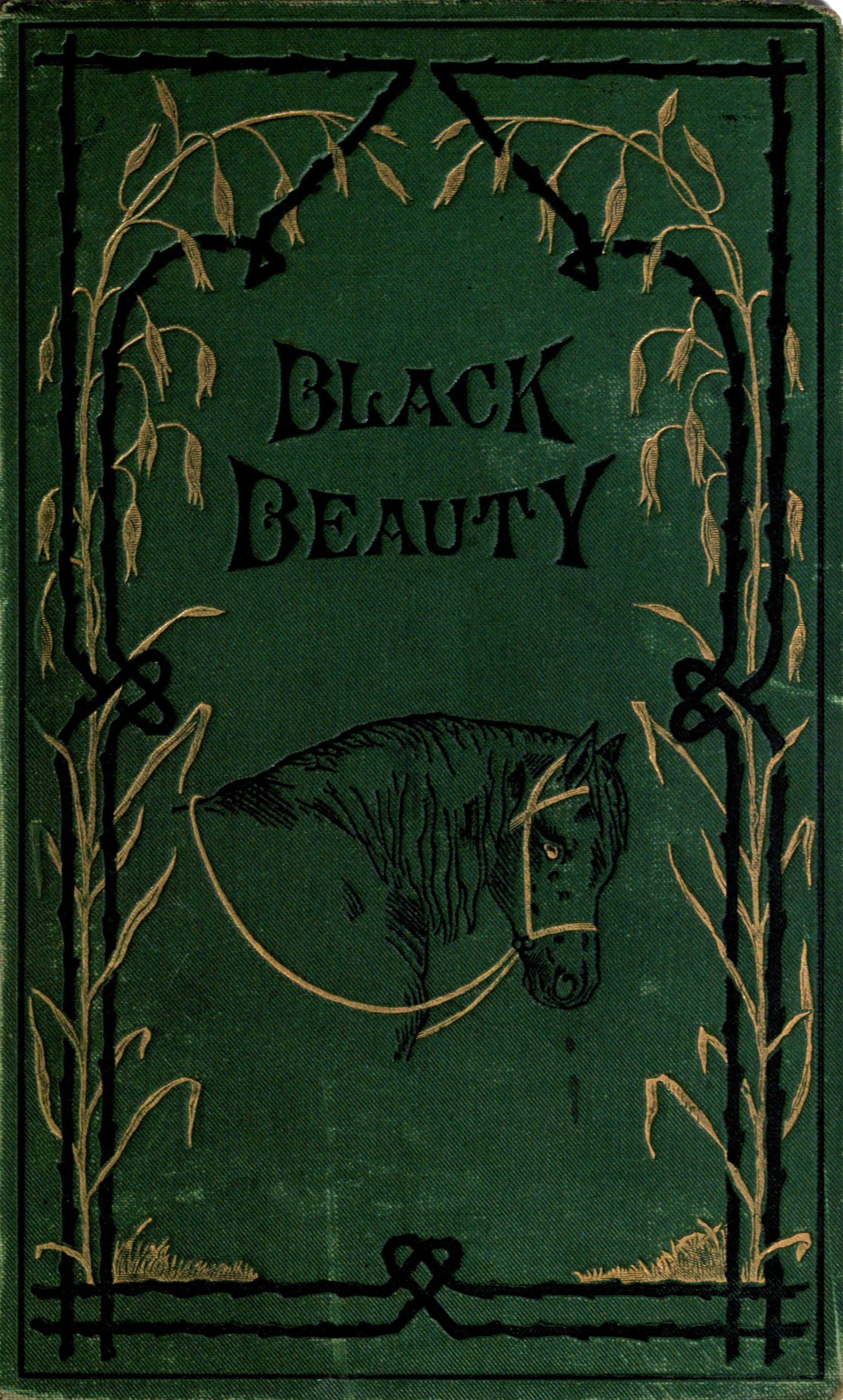 Black Beauty Original Book Cover : File black beauty cover g wikimedia commons