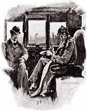 Sherlock Holmes and Dr. Watson, from 1891's