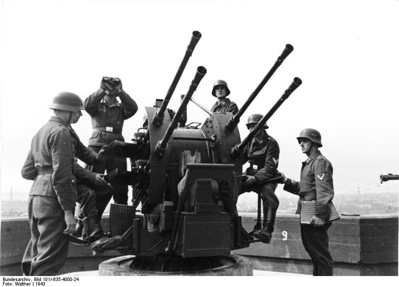Image result for german 2cm flak gun