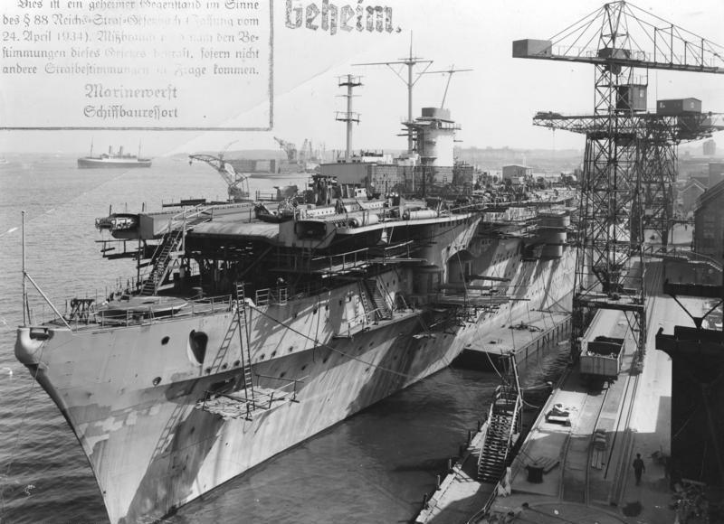 "Bundesarchiv RM 25 Bild-62, Flugzeugträger ""Graf Zeppelin"", Bau.jpg"