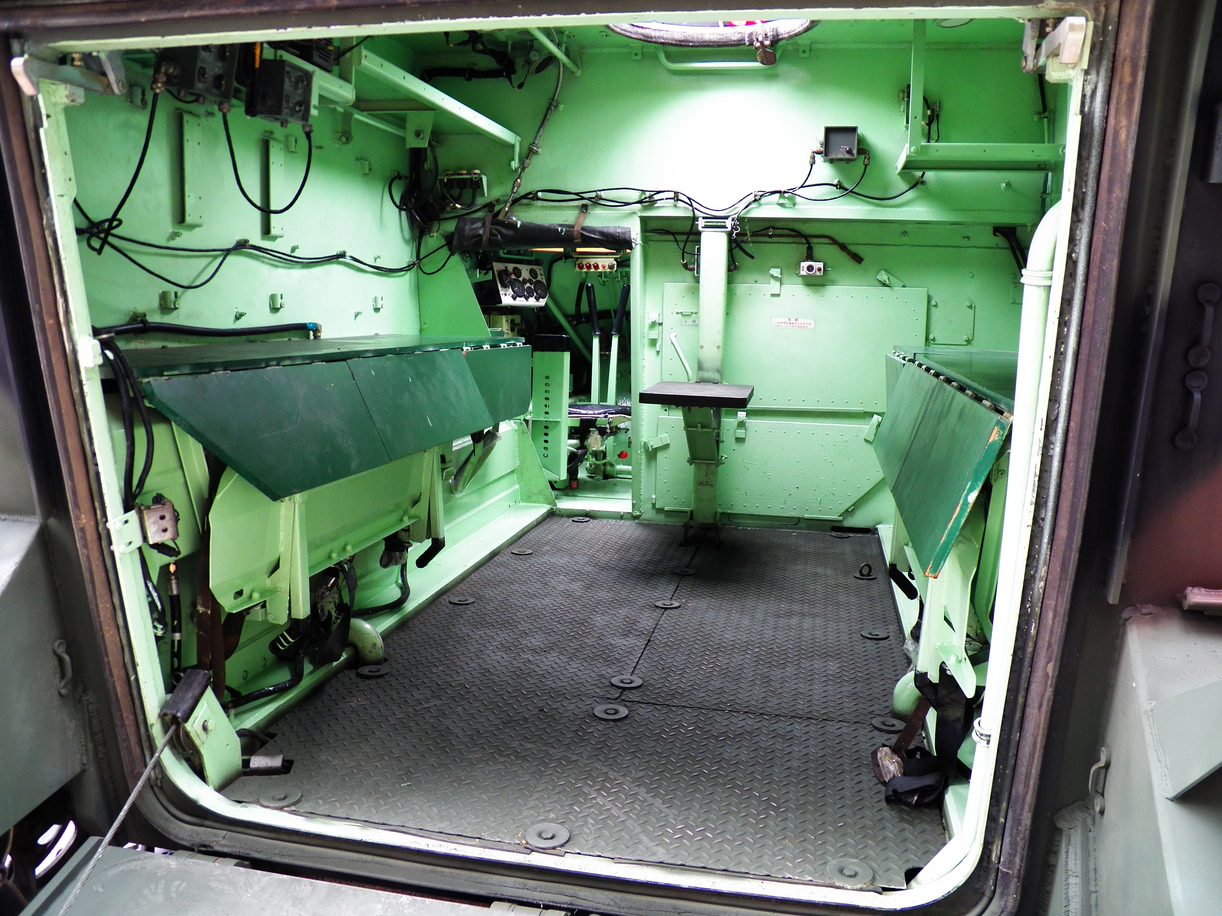 M113 For Sale >> File:CM-26 Armored Command Post Carrier Cabin Interior ...
