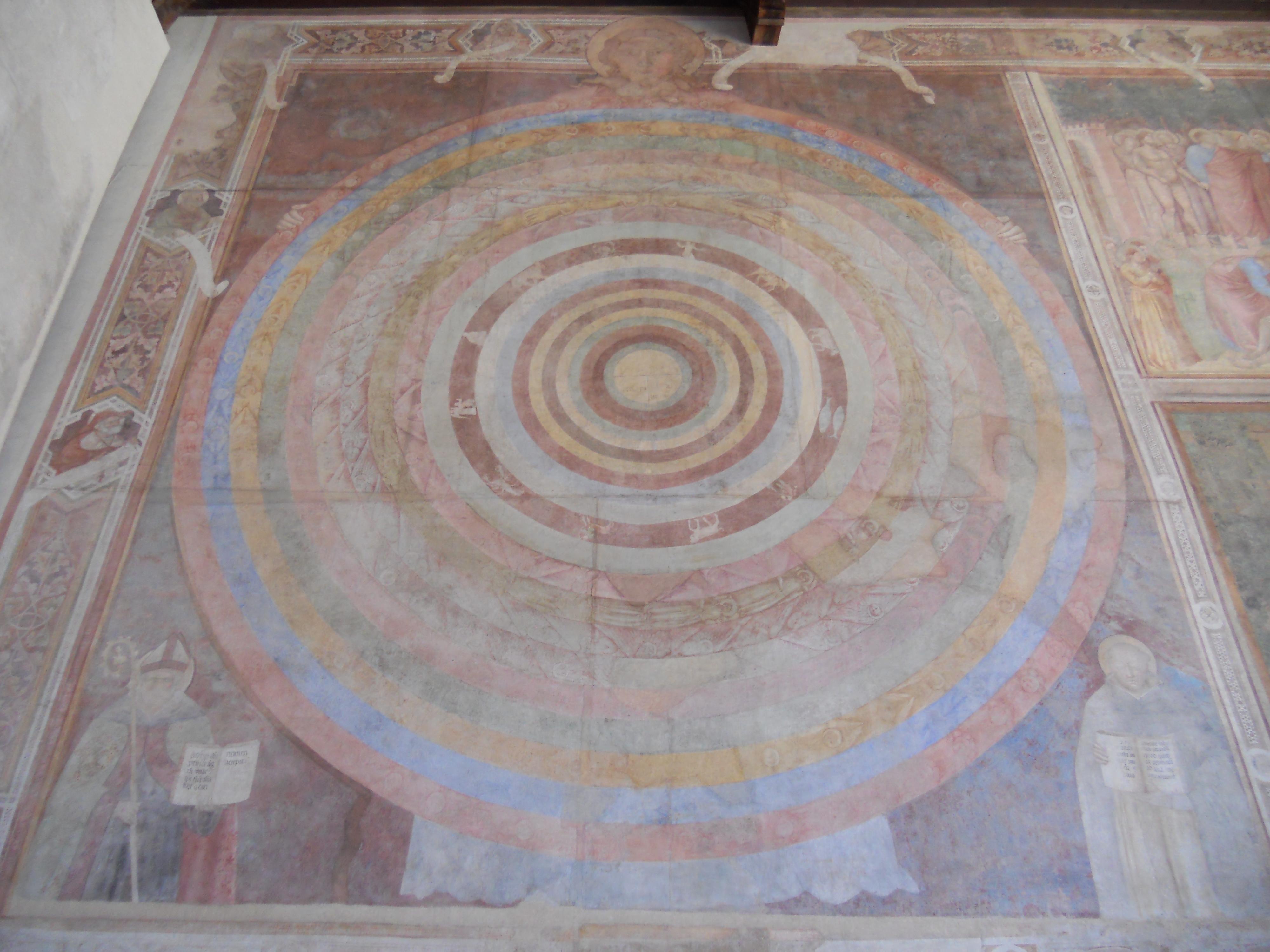 La teoría del Big bang formulada por un franciscano en 1225 Camposanto_monumentale_di_Pisa%2C_Piero_di_Puccio%2C_Cosmografia