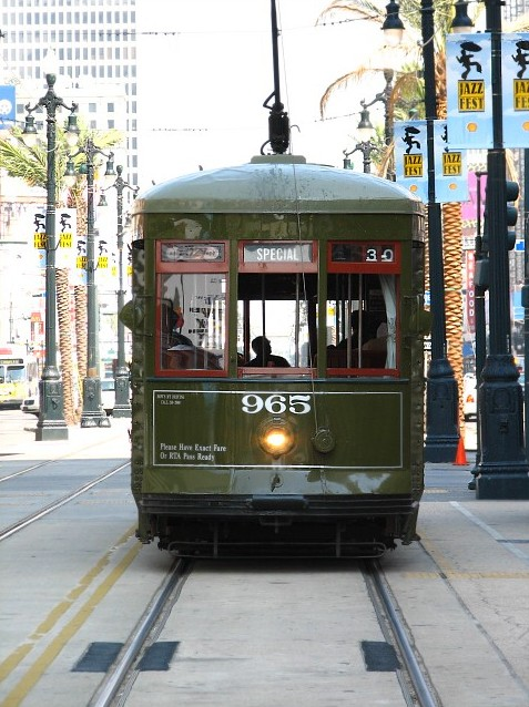Street Car Of New Orleans