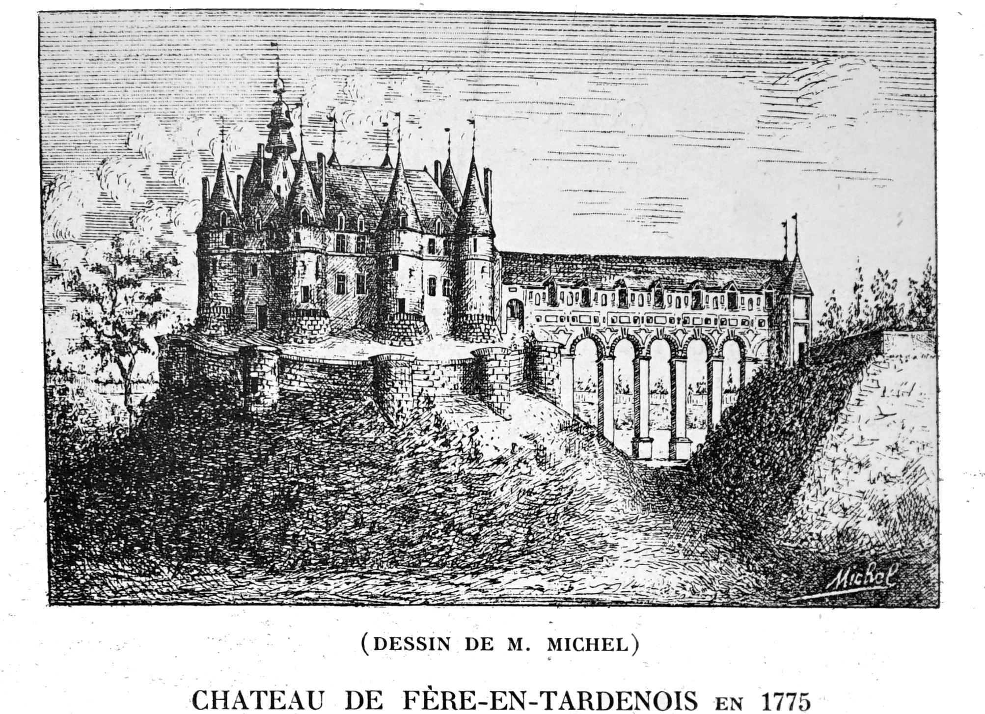 Château De Fère En Tardenois 02 Download Free 3d Model