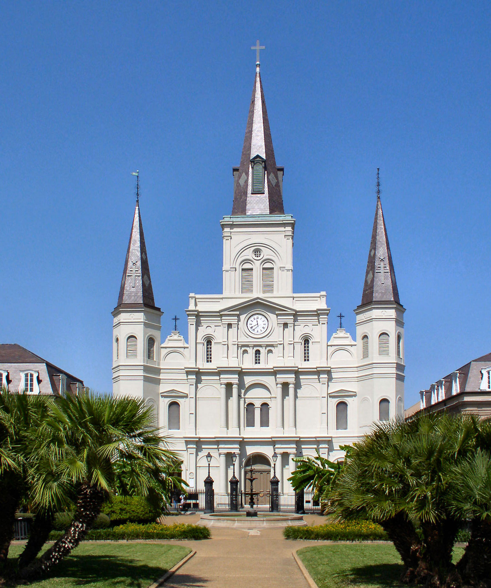 Lovely Churches In West Lafayette #1: Cathedral_new_orleans.jpg