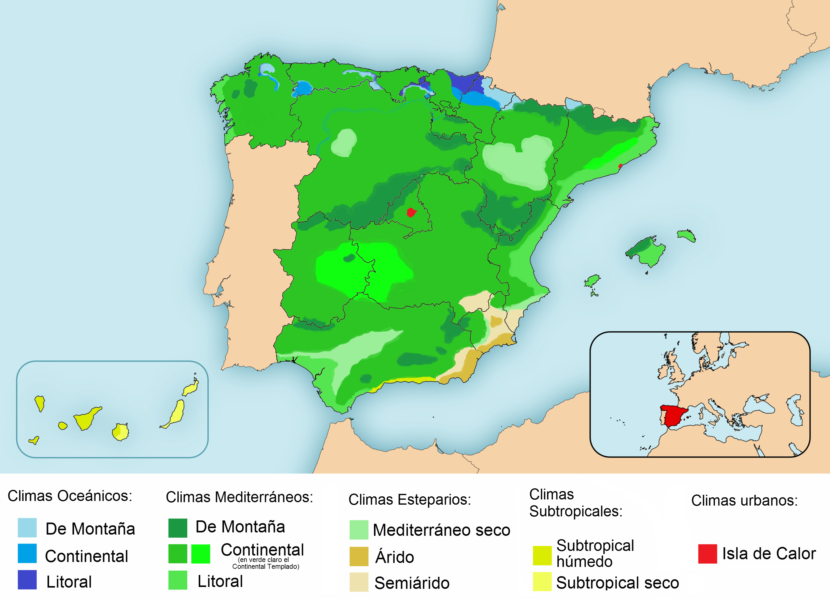 climate in spain - Khafre