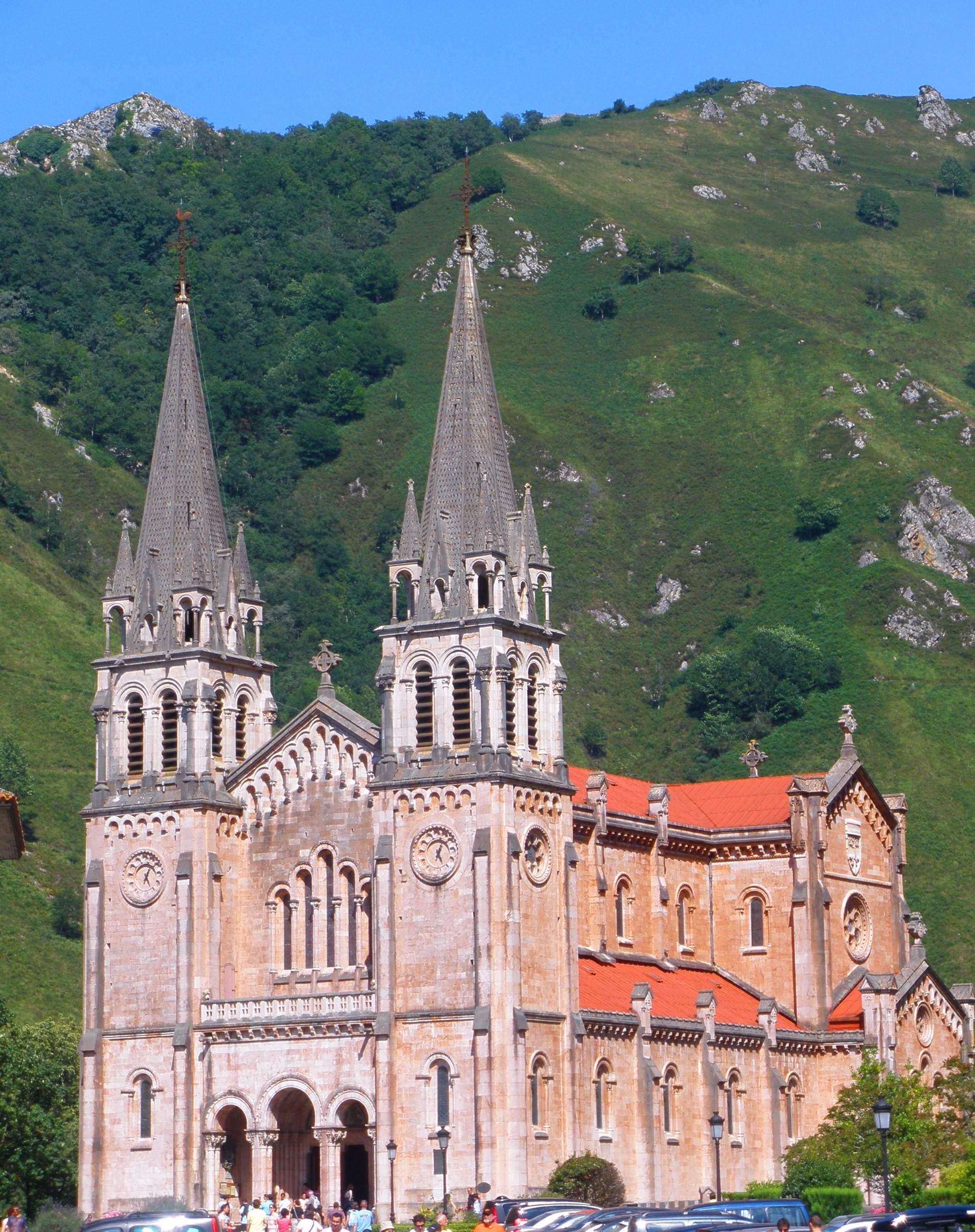 Basílica De Santa María La Real De Covadonga Wikipedia