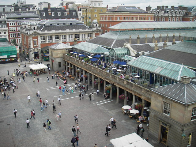 Covent Garden Cafes And Restaurants
