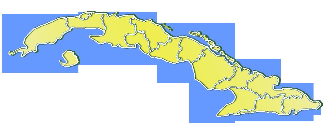 Cuba Map Provinces - Cuba provinces map