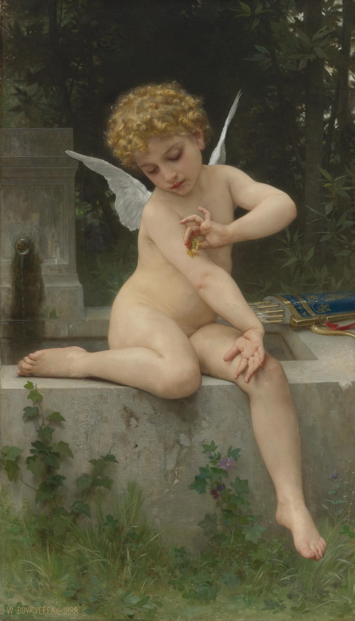 Depiction of Cupido