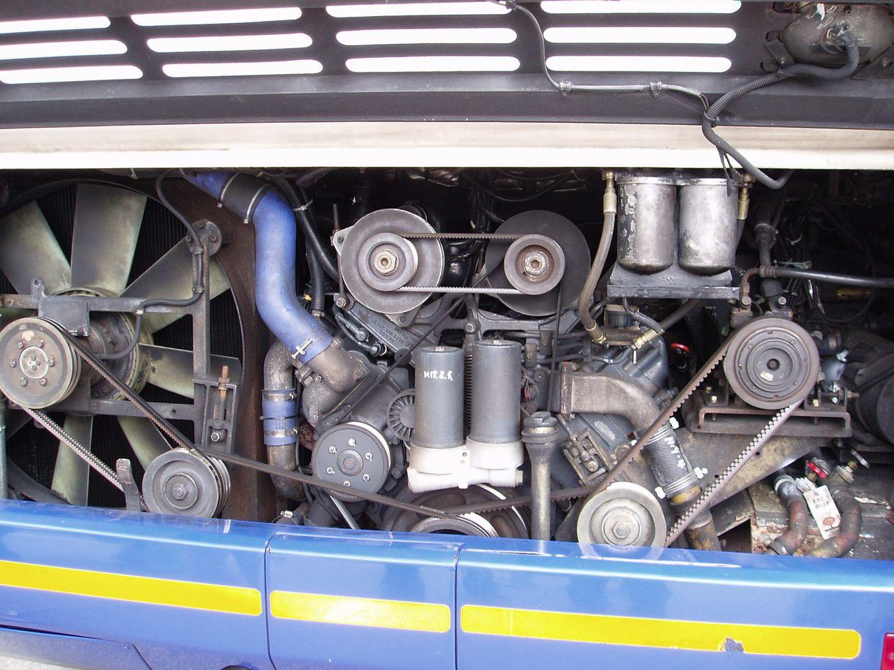File Diesel Engine Mercedes Benz Om441la For Neoplan Jpg