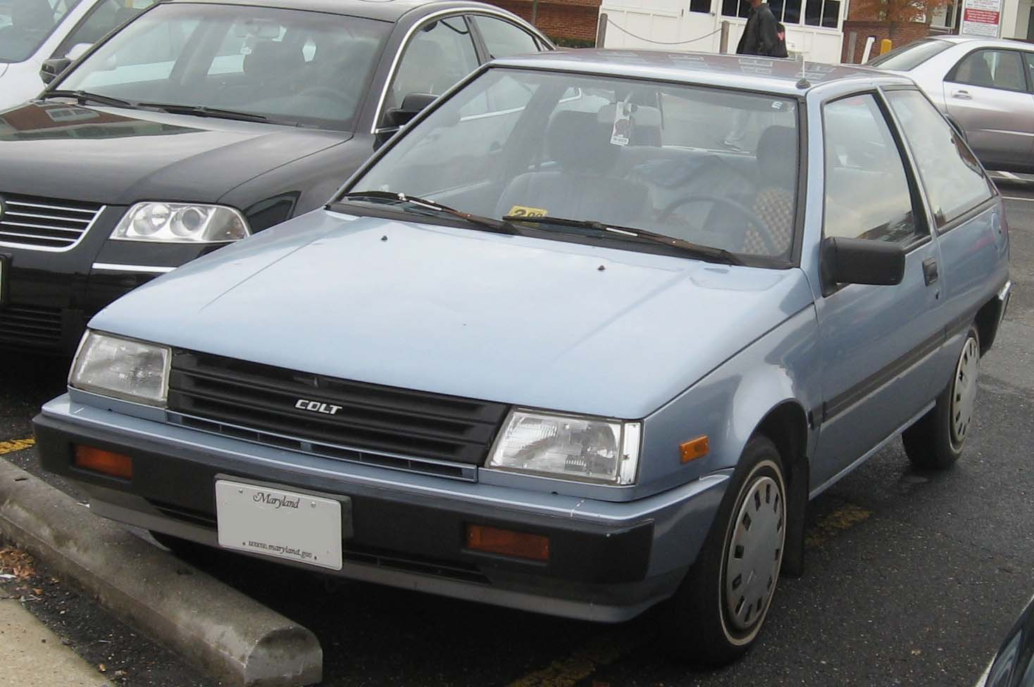 File Dodge Colt Front Jpg Wikimedia Commons