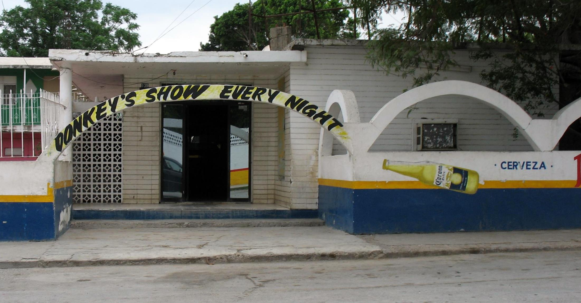 Mexico donkey sex club