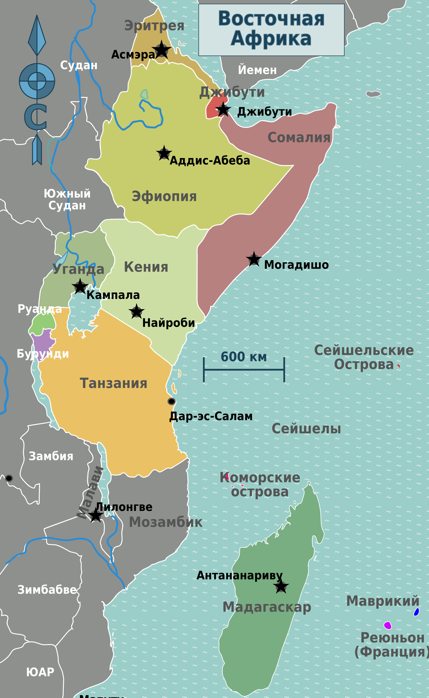 File:East Africa regions map (ru).png - Wikimedia Commons