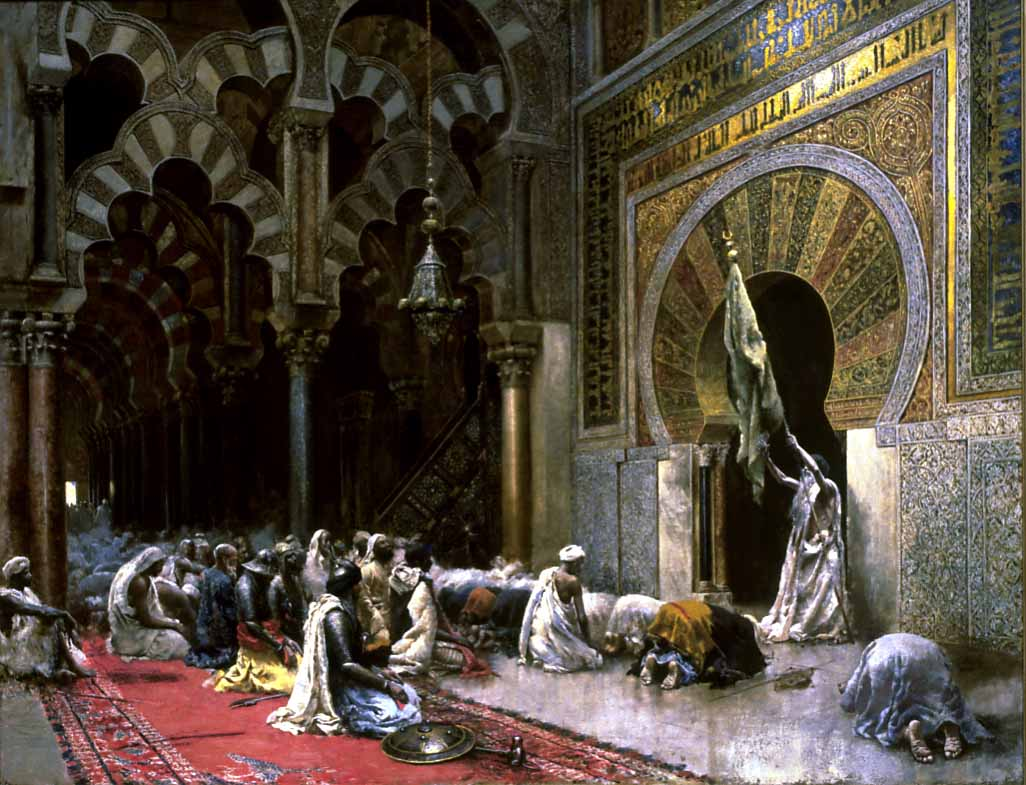 Eid Al-Fitr in art: