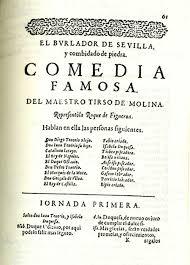 play by Tirso de Molina