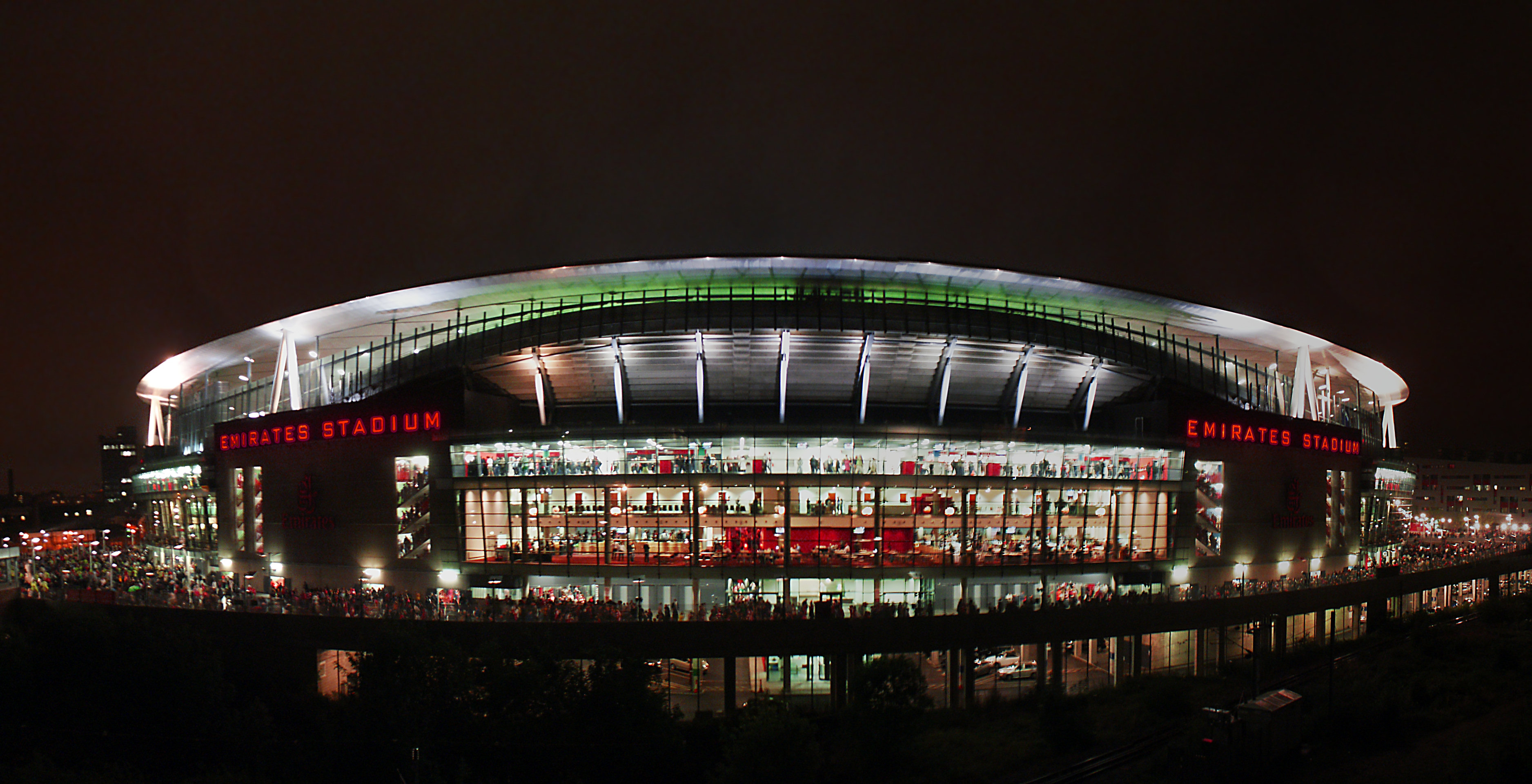 Description Emirates Stadium Night - East side - Composite.jpg