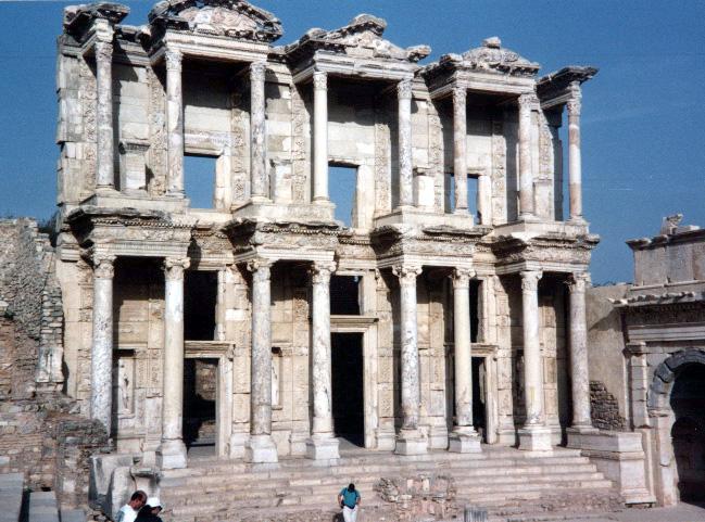Efes kütüphanesi anadolu daki tarihsel kalıntılar daha 16