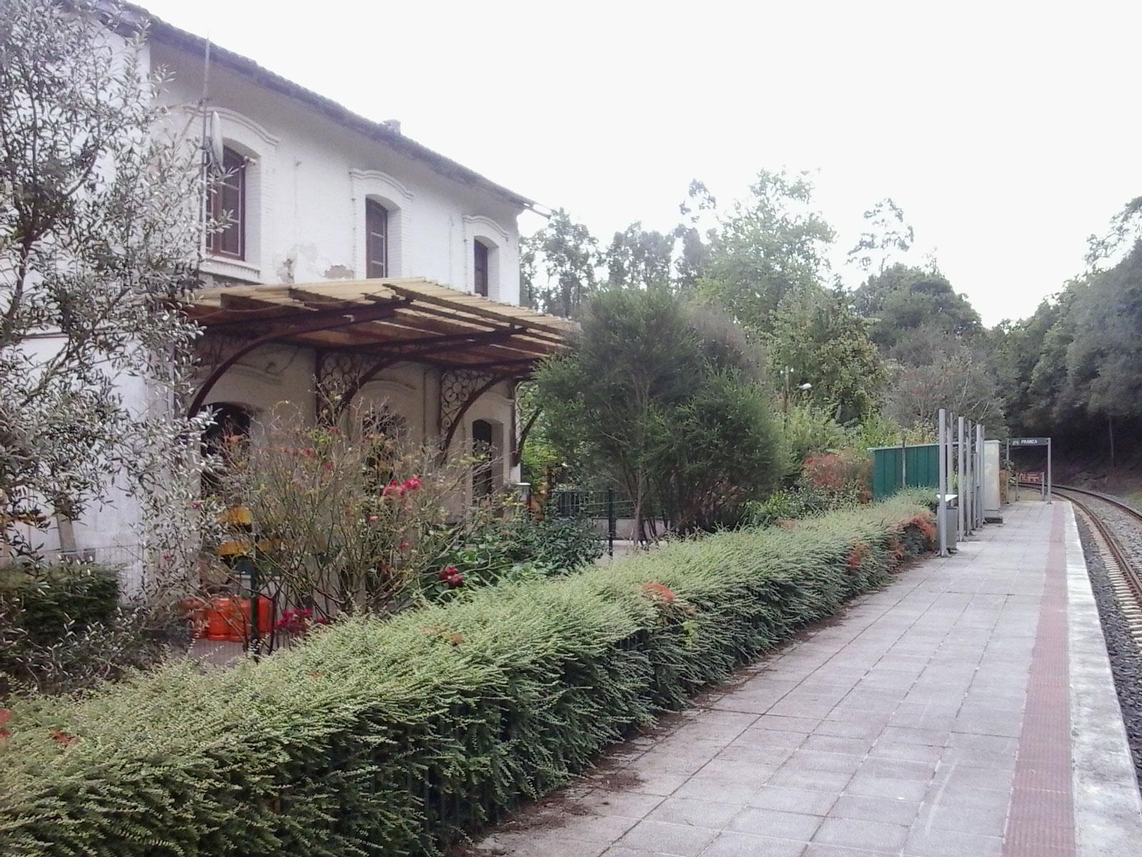 Estación de Franza