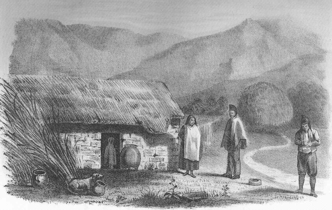 File Fmib 49735 Quichua Indian Family And Hut Peru Jpeg Wikimedia