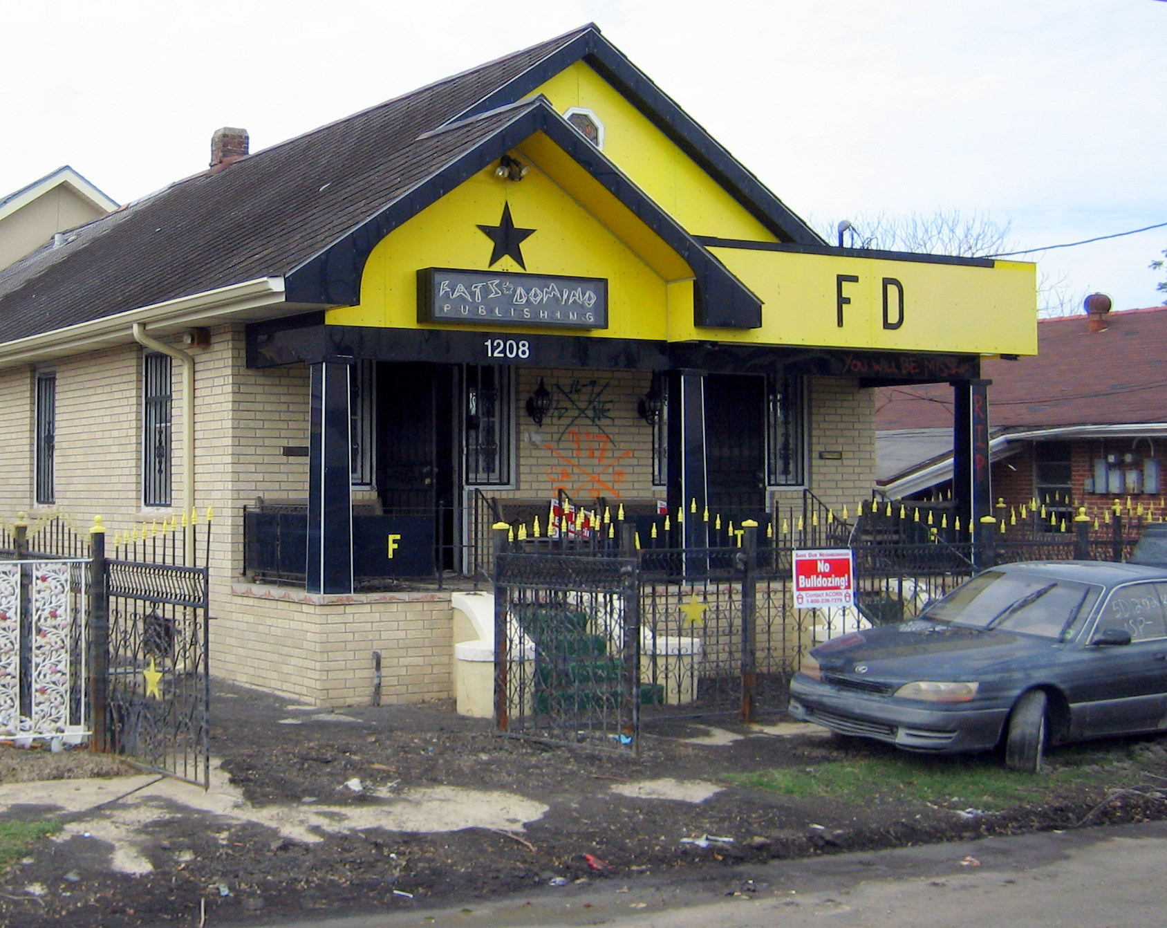 File fats domino house new orleans wikimedia commons - House images new ...