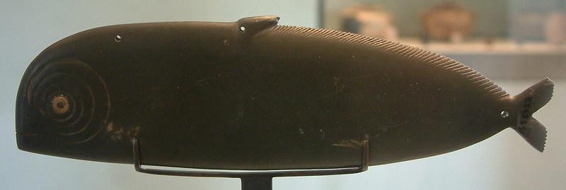 Fish-shaped kohol palette-E 22731