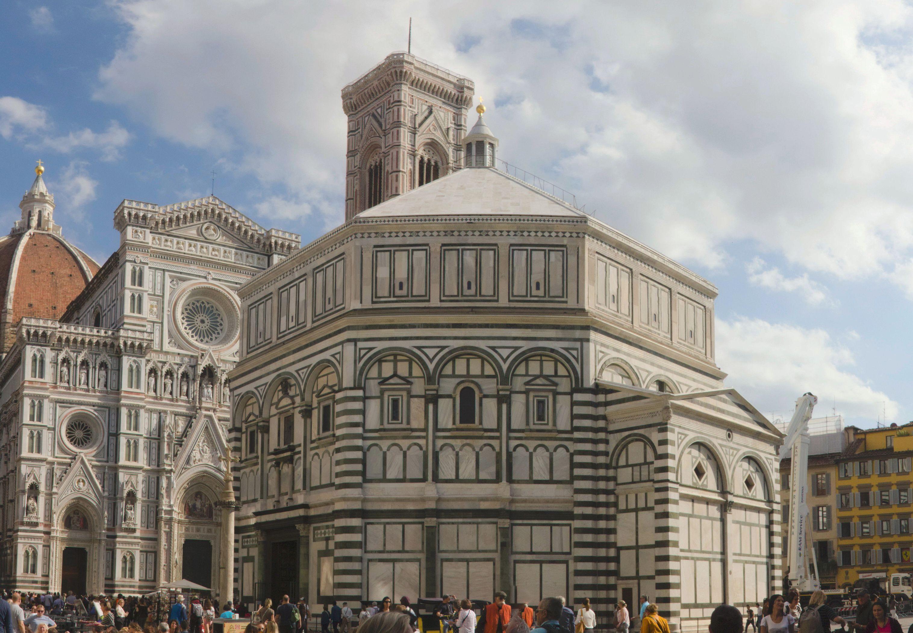 Florencia - Firenza - Baptisterio de San Xoan - Baptisterio de San Juan - Baptistery of St John - Exterior - 01.jpg