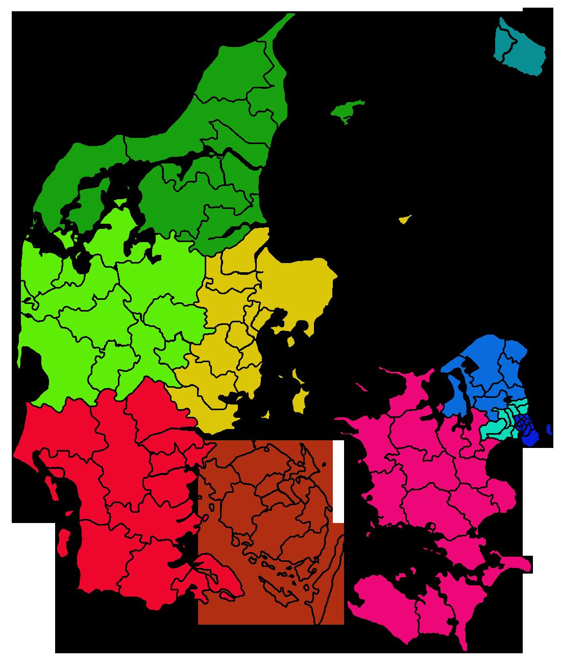 Karta Hjorring Danmark.Valgkredse I Danmark Wikipedia Den Frie Encyklopaedi