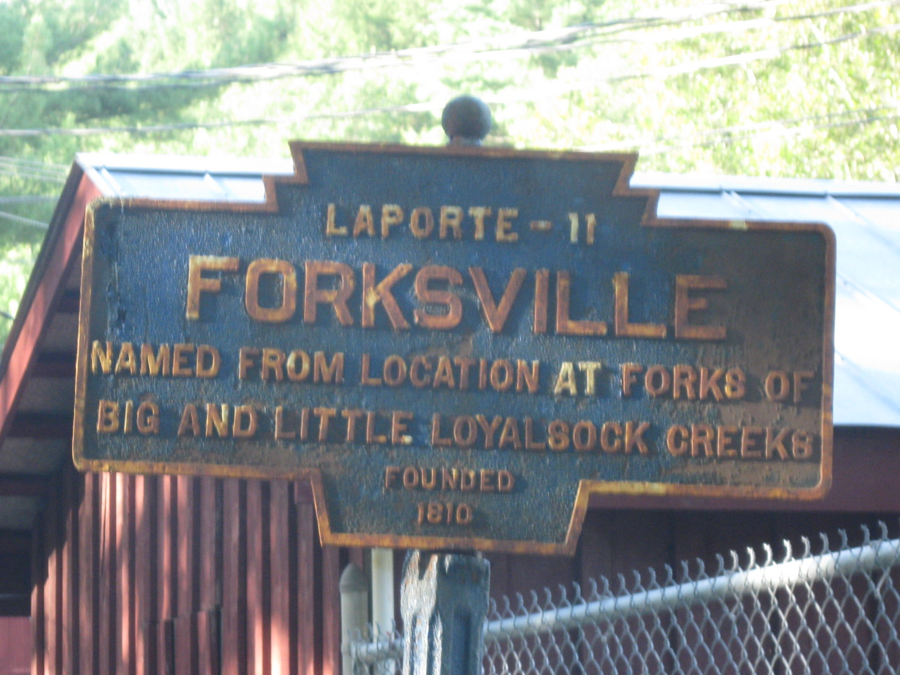 forksville dating Tunkhannock is a borough in wyoming county, pennsylvania, 31  newspapers dating back to 1797 and census records for wyoming and surrounding counties from 1790 to.