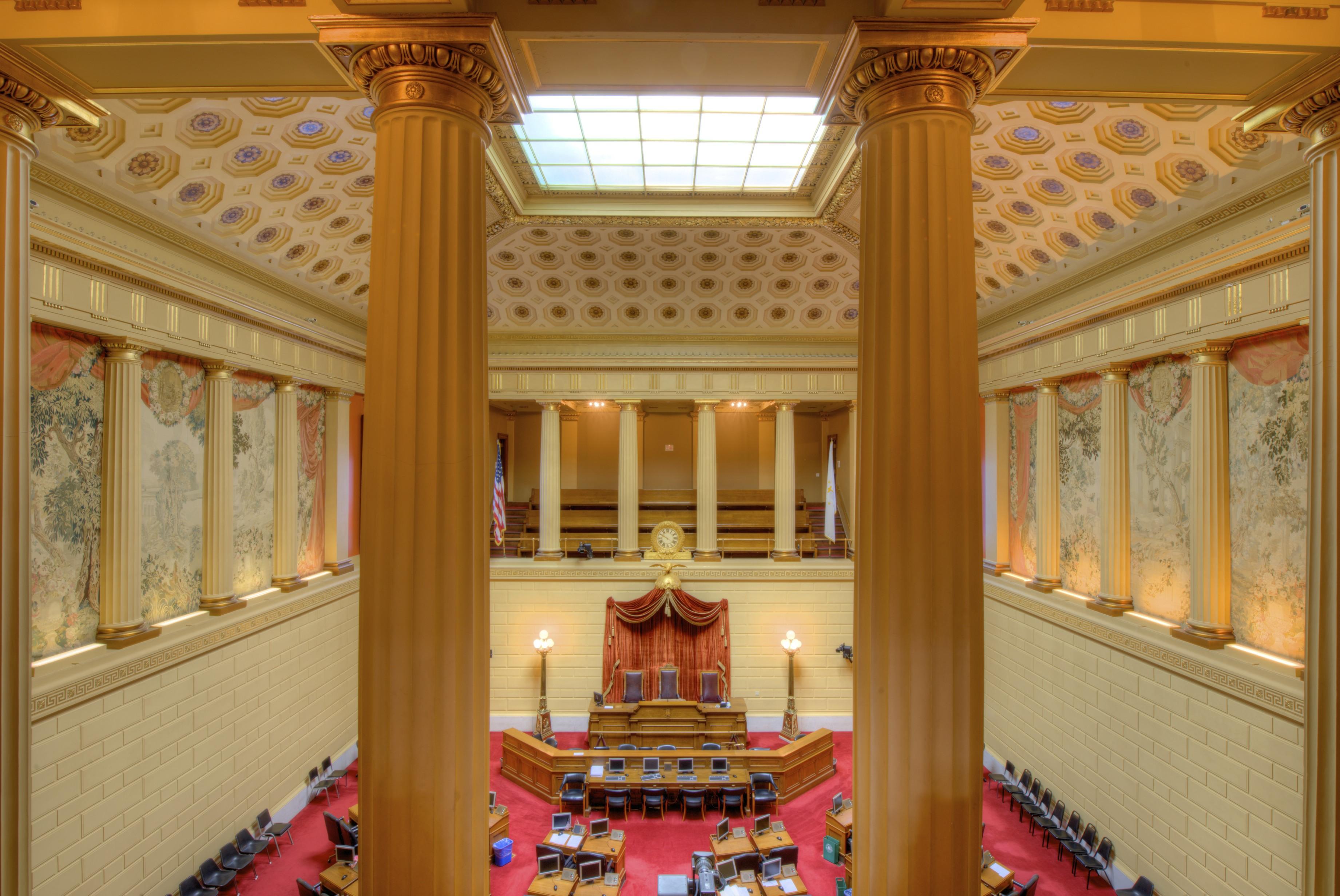 Rhode Island State House Columns