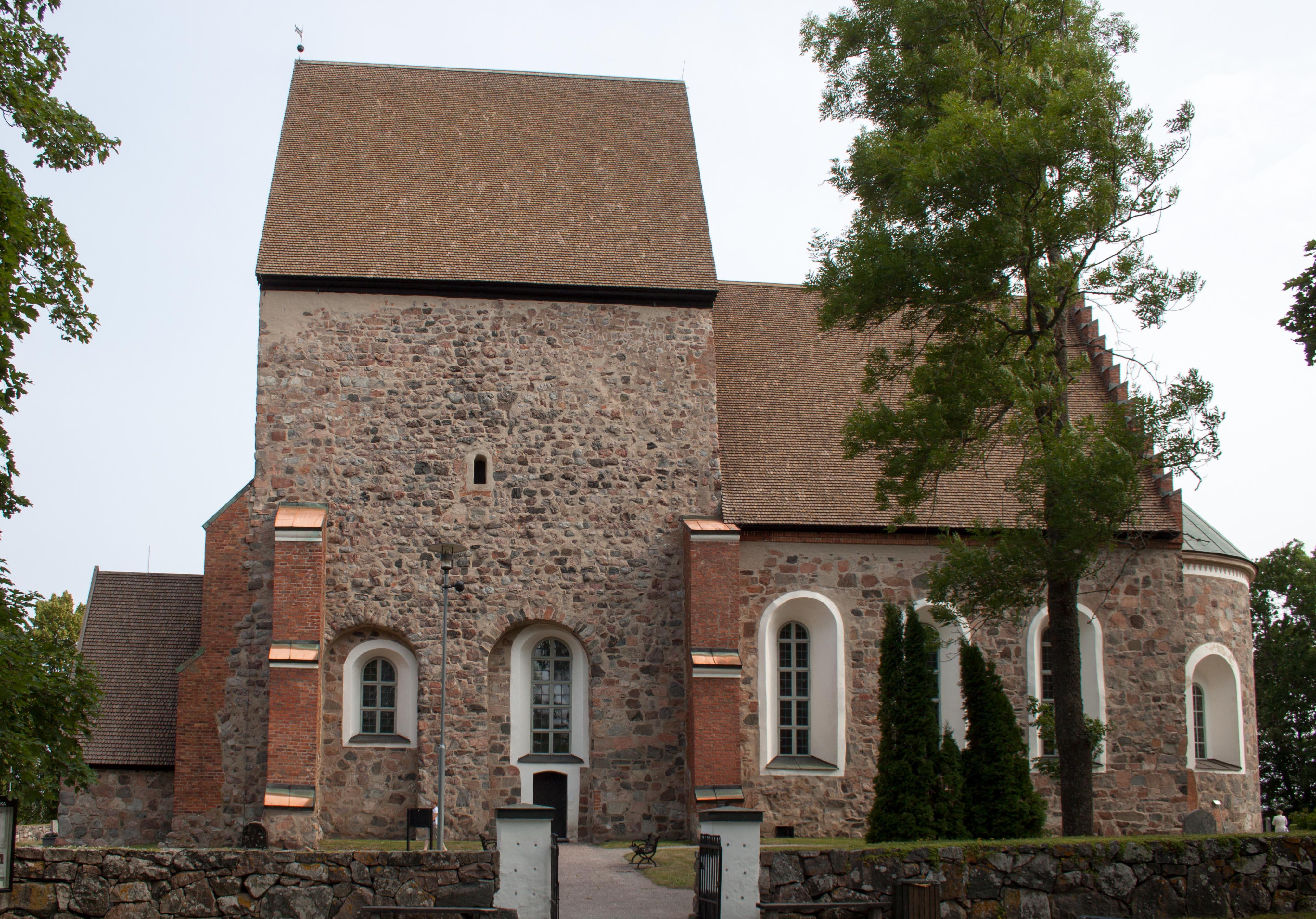 Bild av Gamla Uppsala kyrka