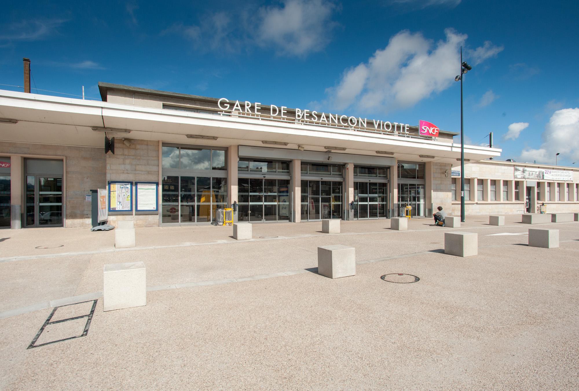 exquisite style official shop recognized brands Gare de Besançon-Viotte - Wikipedia