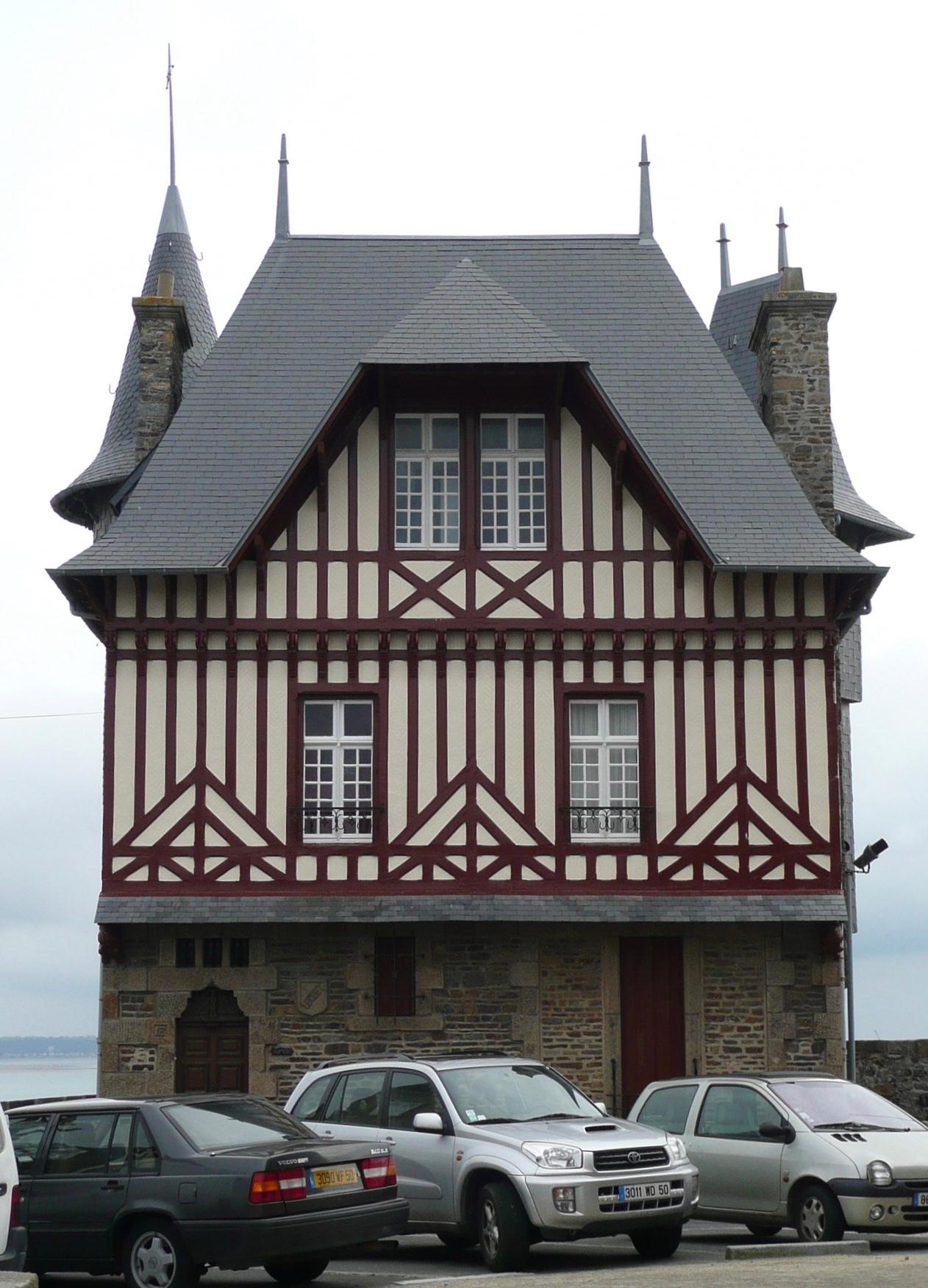 Visiter granville tourisme granville - Plan maison normande ...