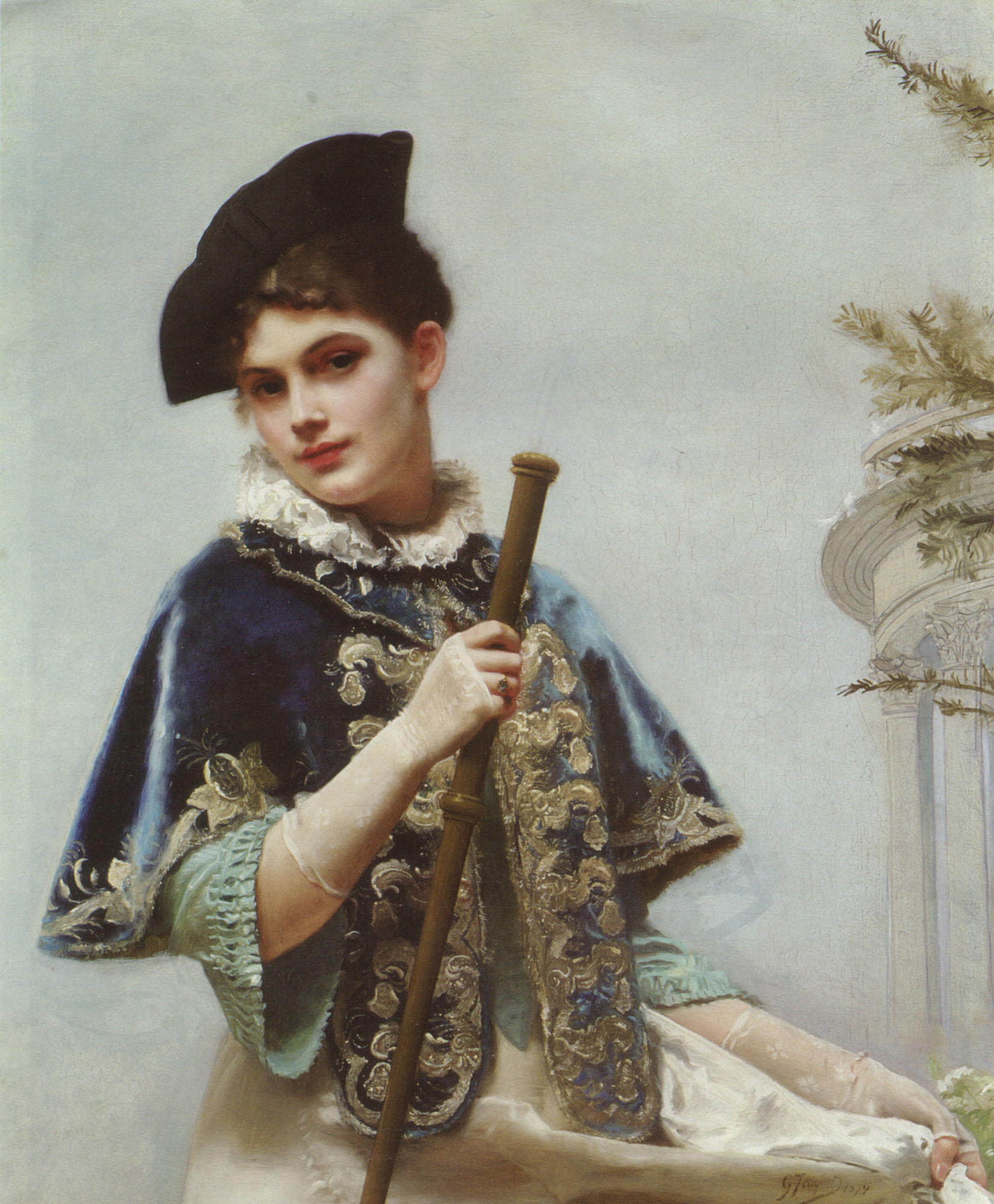 File:Gustave Jean Jacquet - Noble Lady.jpg - Wikimedia Commons