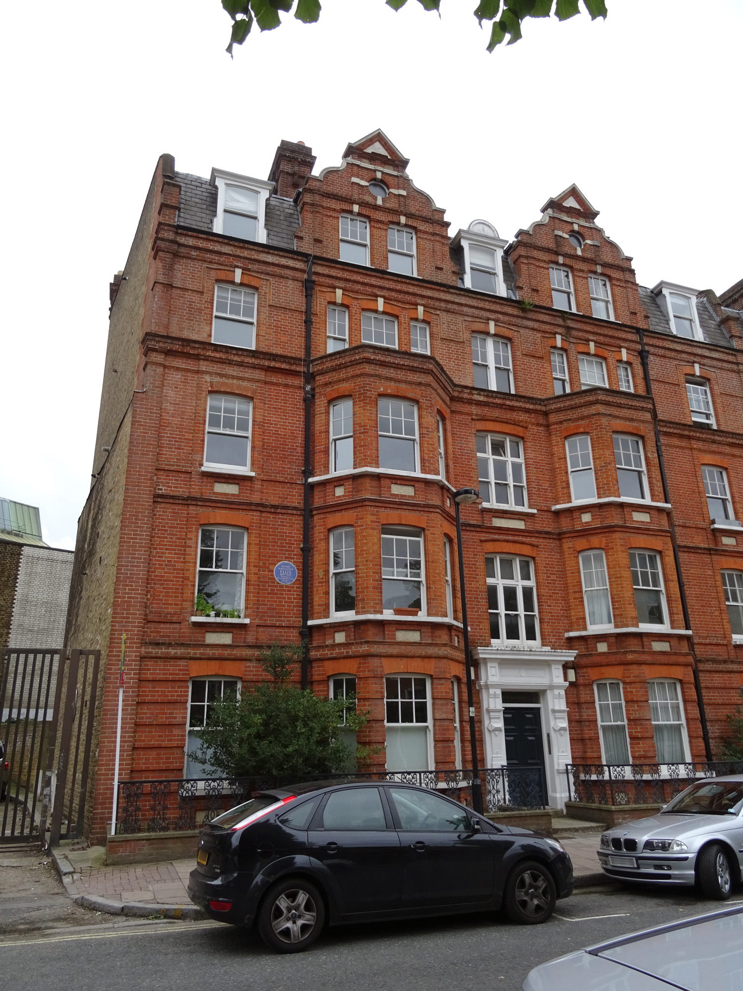 File Henry Havelock Ellis 14 Dover Mansions Canterbury Crescent Brixton London Sw9 7qf Jpg Wikimedia Commons