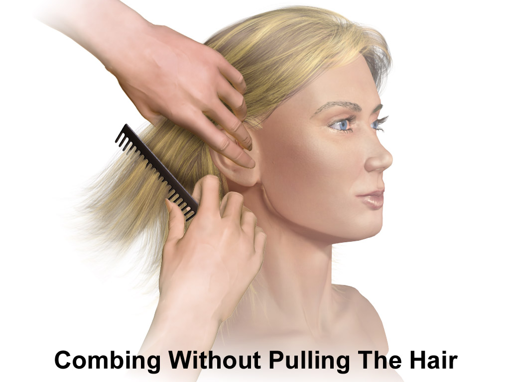 File:Hair Care Combing Hair.png - Wikimedia Commons