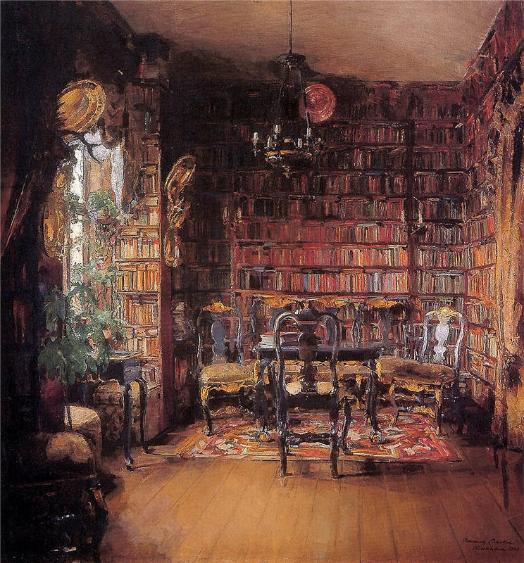 Harriet Backer - Thorvald Boecks bibliotek - Nasjonalmuseet - NG.M.03504.jpg