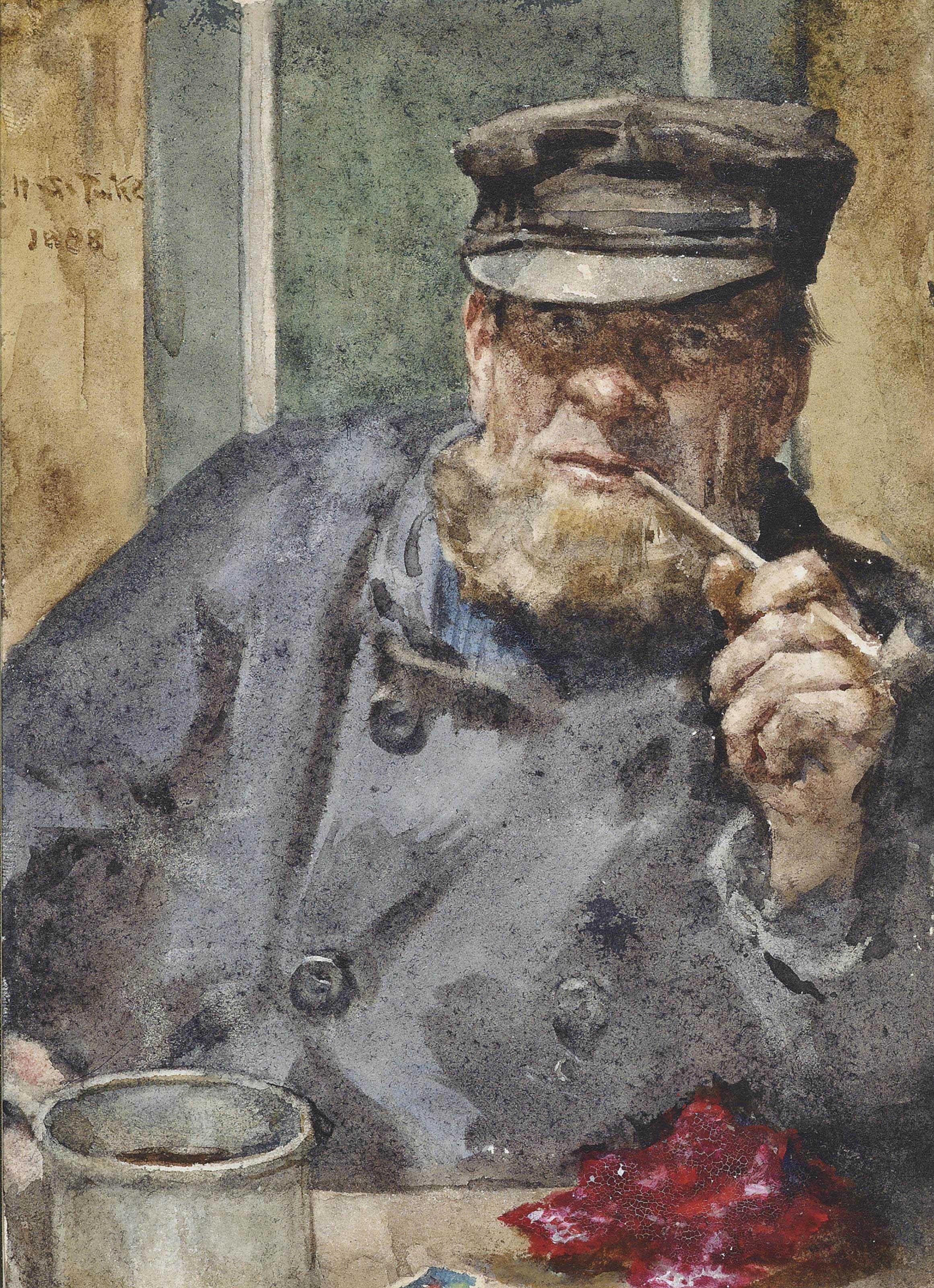 Henry Scott Tuke Tuke Painting Tom White