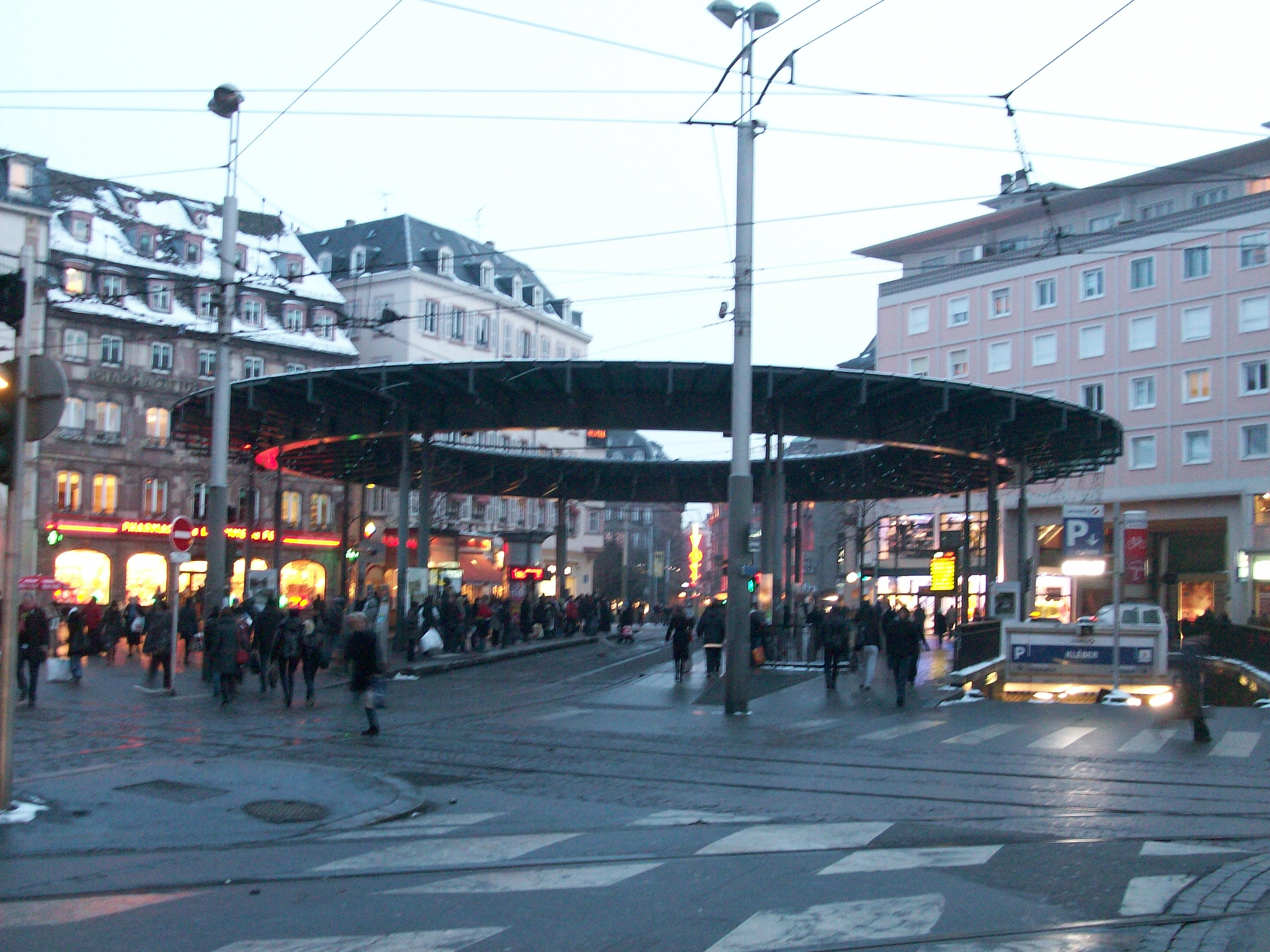 Centre Ville Strasbourg Plan