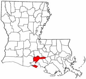 Iberia Parish Louisiana