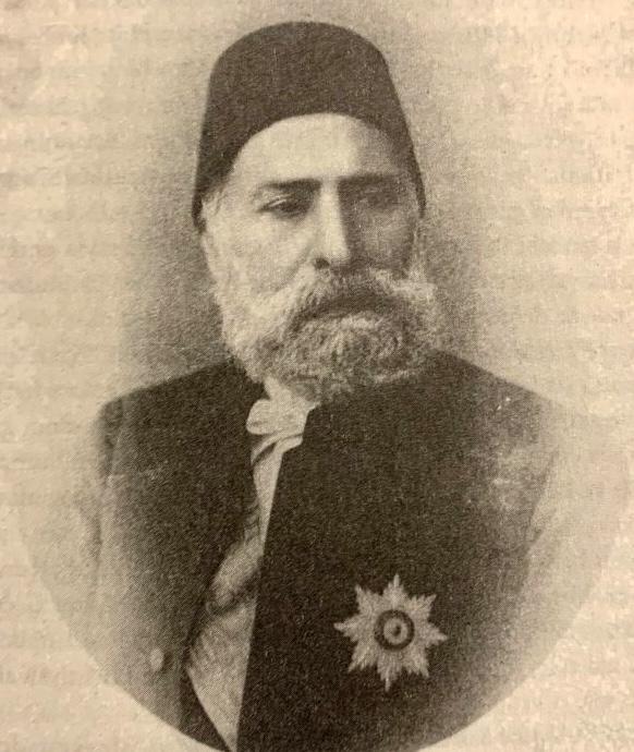 Ibrahim Edhem Pasha Grand Vizier of the Ottoman Empire