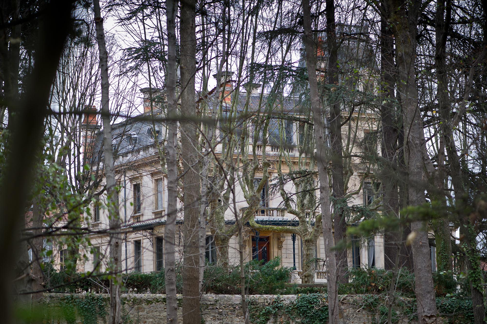 Irigny France  city photos gallery : Irigny, villa Bagatelle parc et villa Wikimedia Commons