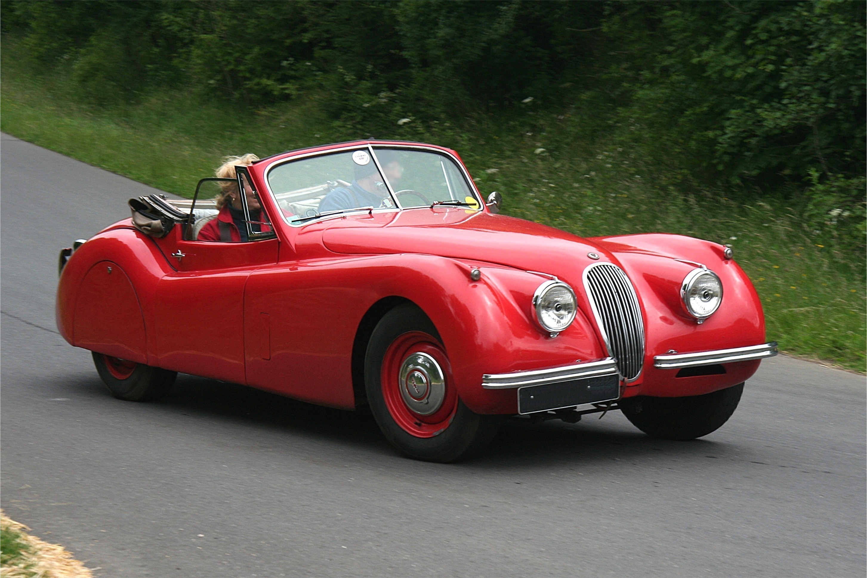 File Jaguar Xk 120 Bj 1953 N 252 Rb Ring S 252 Dschleife 2008