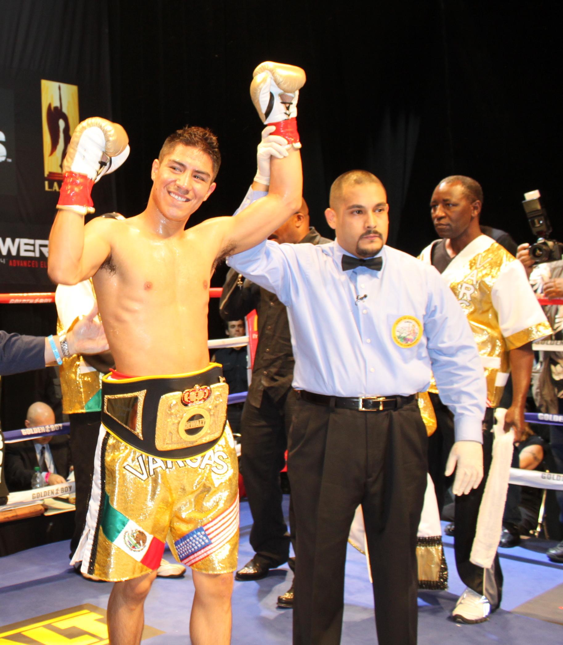 Vargas in 2010