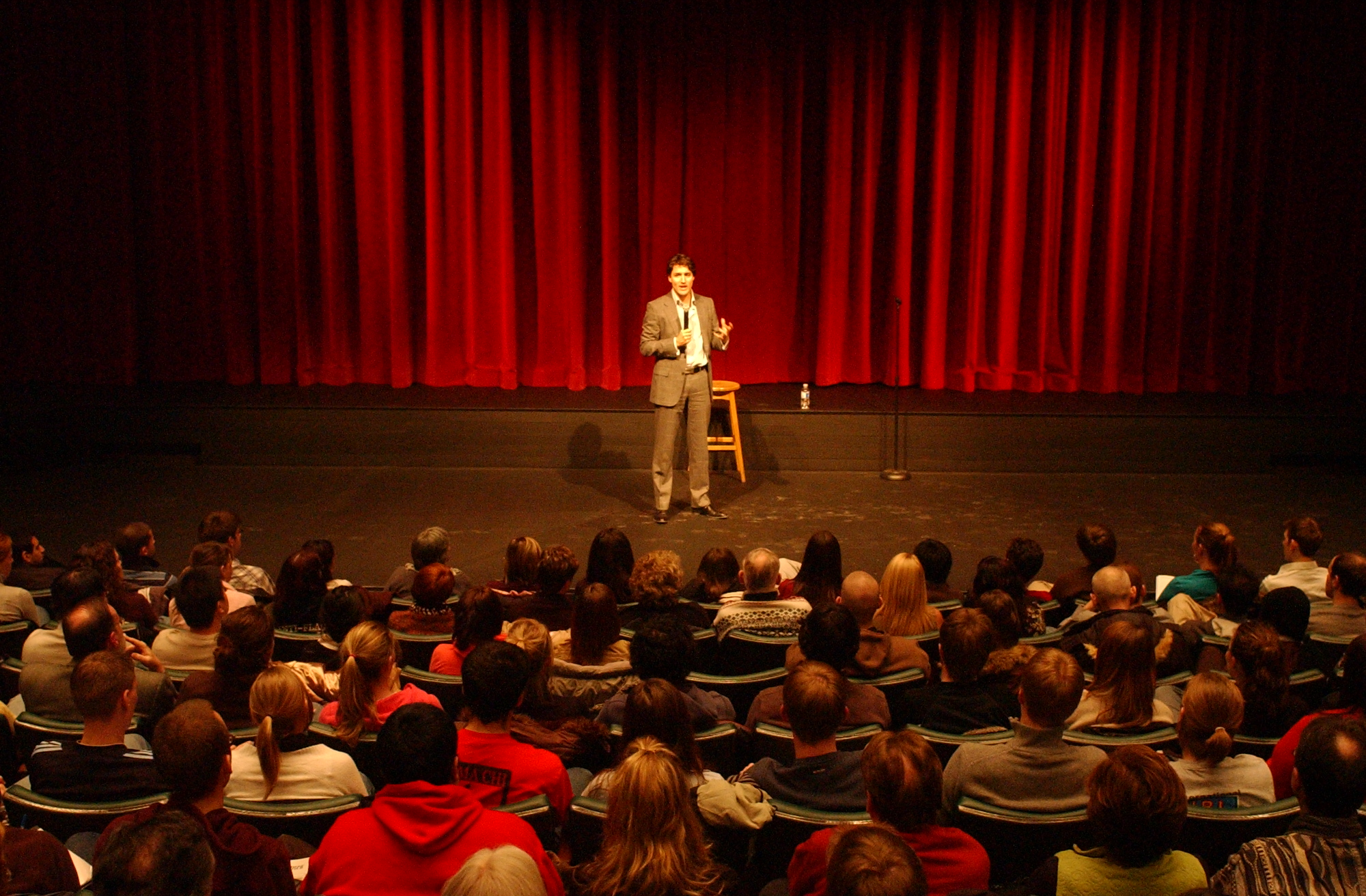 Conference File Justin Trudeau Uw Hagey Hall Humanities Theatre Jpg