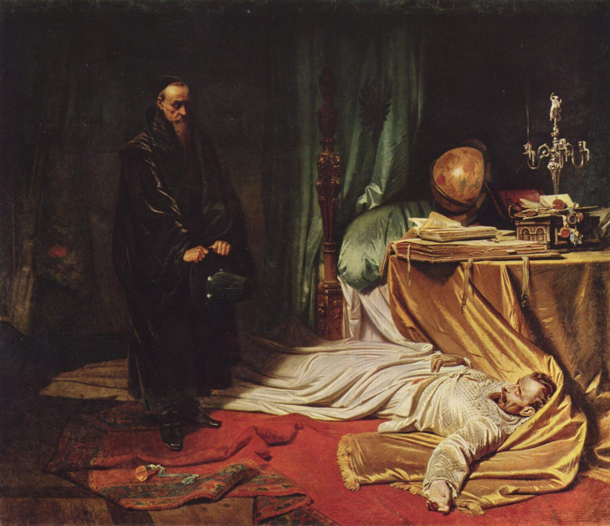 A belated visit an astrologer. Charles Pilots, 1855.