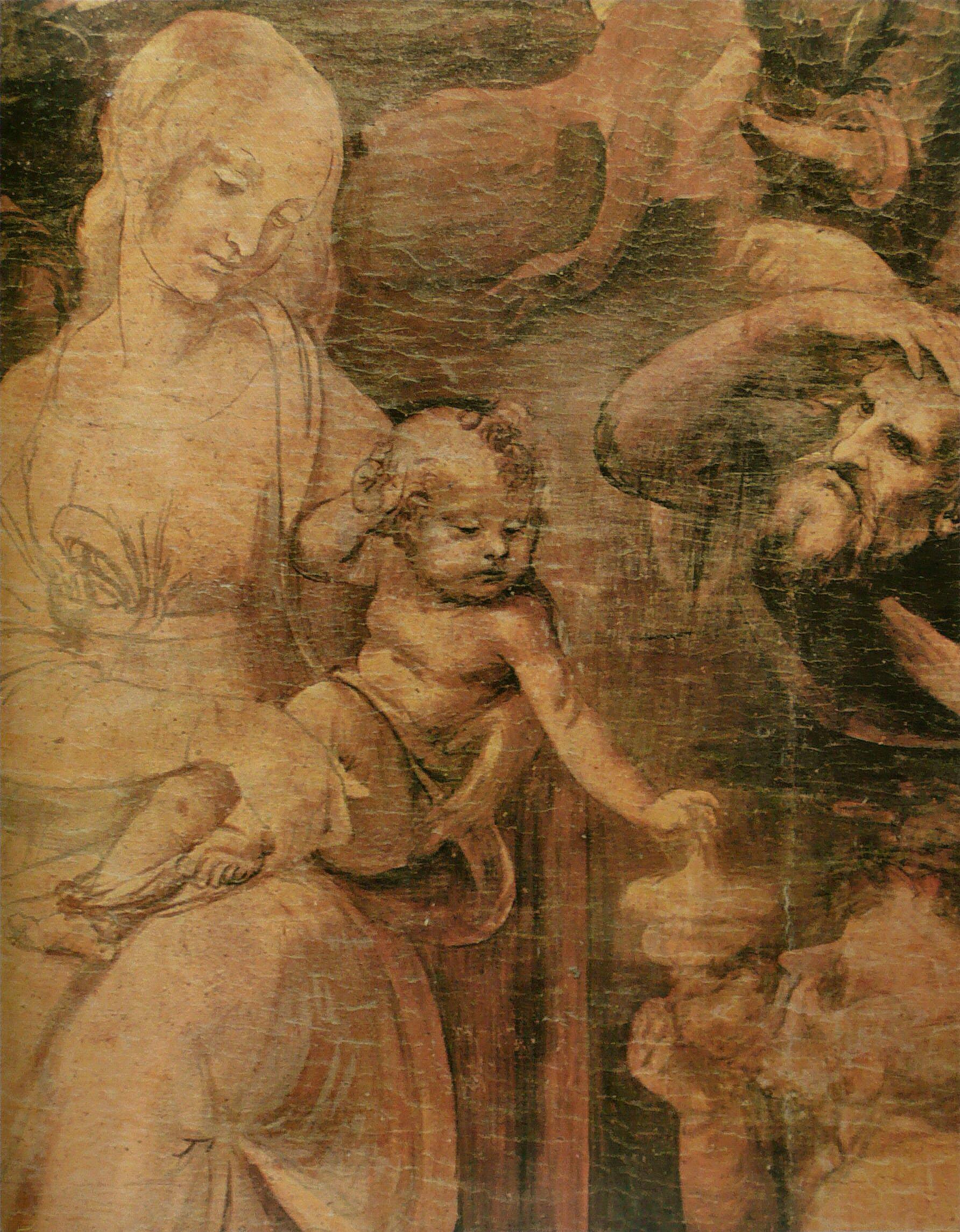 File l onard de vinci adoration des wikimedia commons - Photo leonard de vinci ...