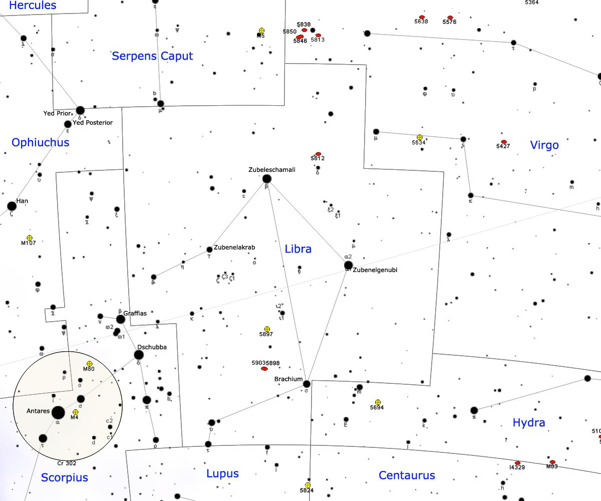 Libra (constellatio) -...T Ara Names